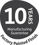 10 Years for Factory Paint Finish
